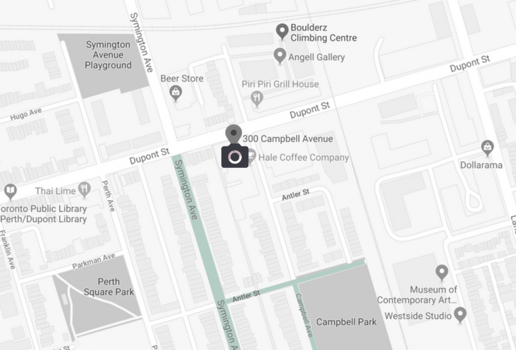 Directions to Mintroom Studio