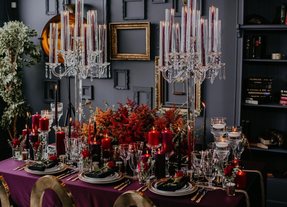 table setting lit