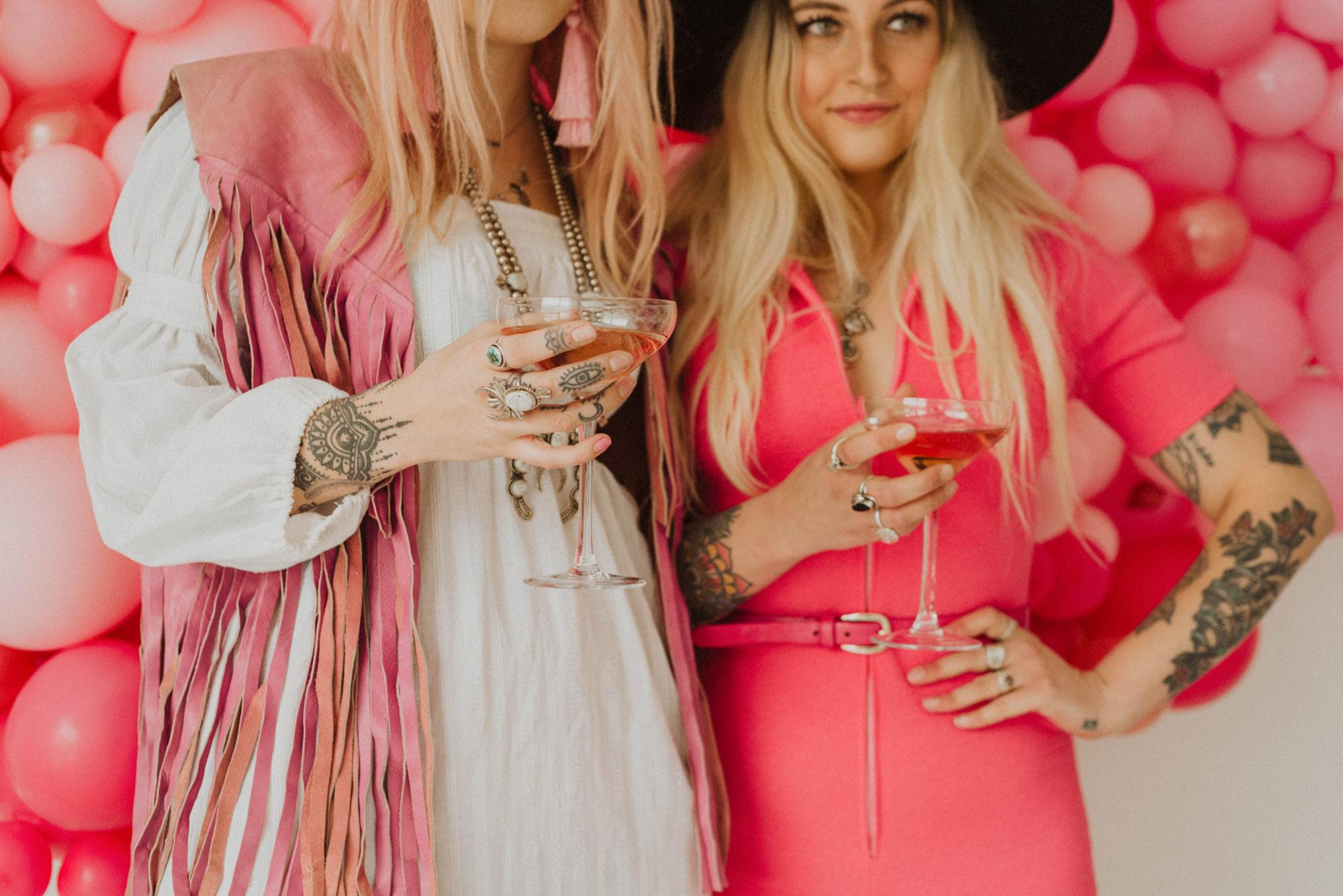 twinning duo pink