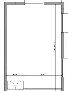 White Loft Floor Plan