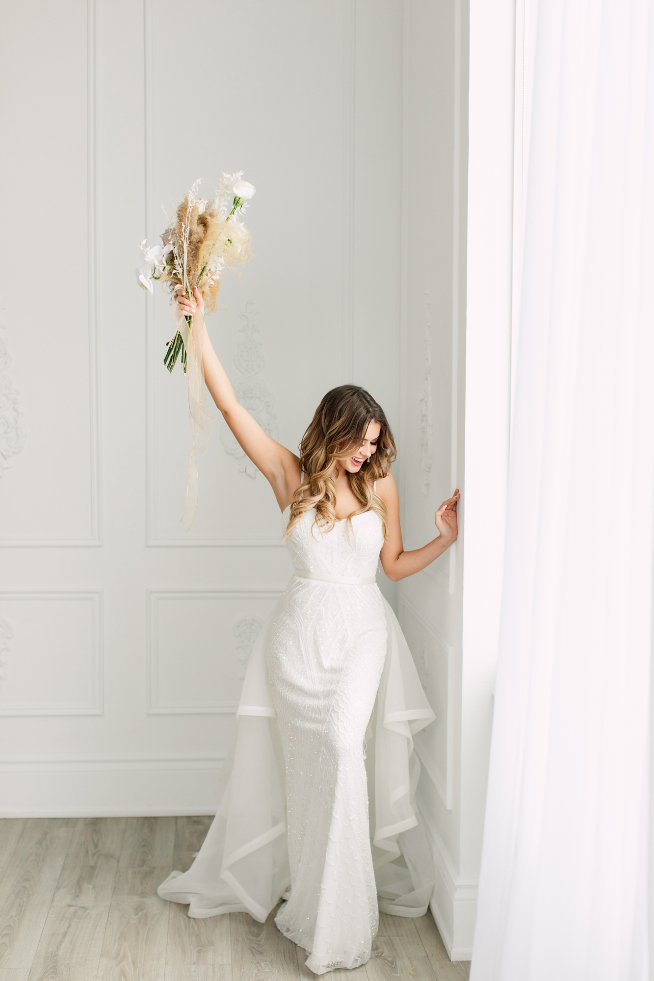 styled fashion bride