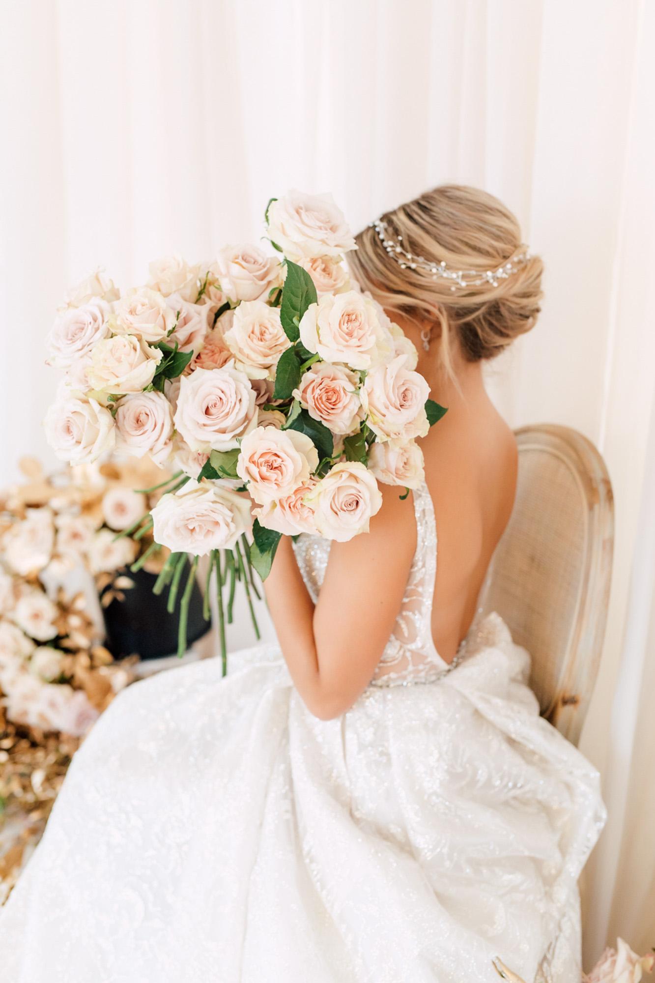 bouquet elegant glamorous