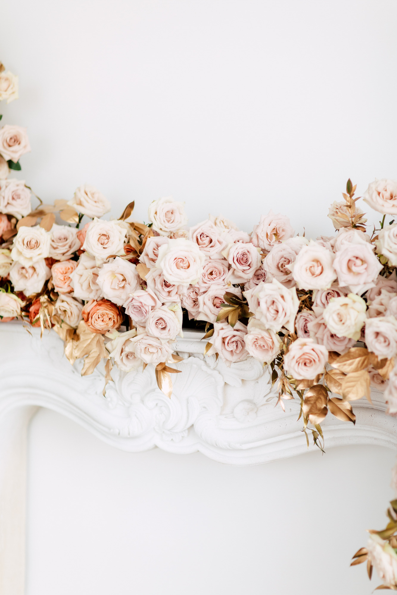 bridal decoration rosy