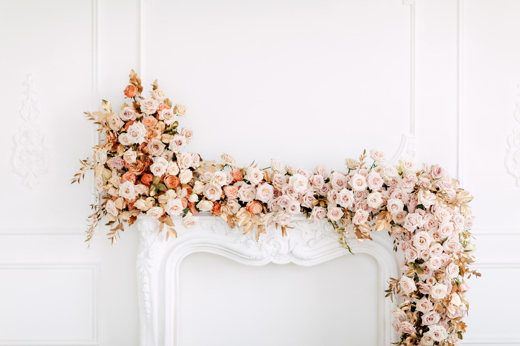 roses bunches arrangement