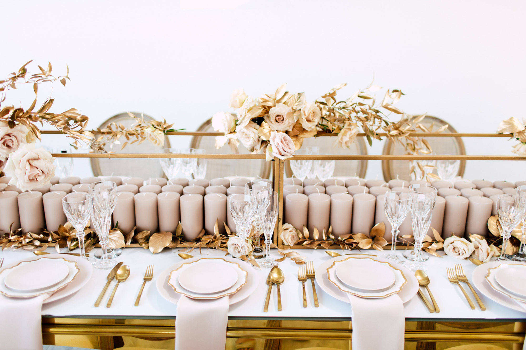 bridal celebrate table