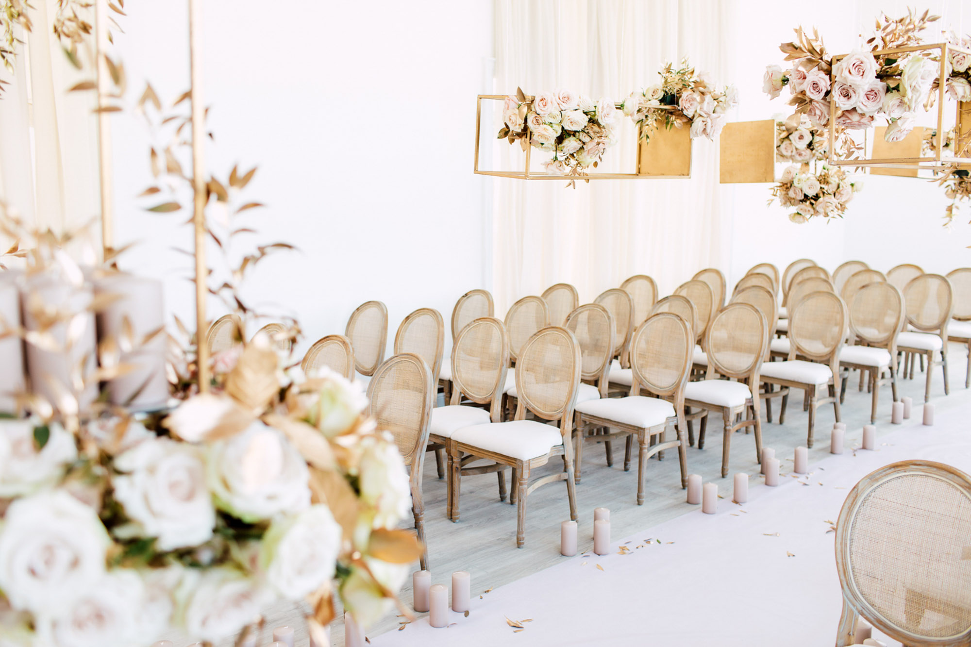 aisle decorations runner chairs
