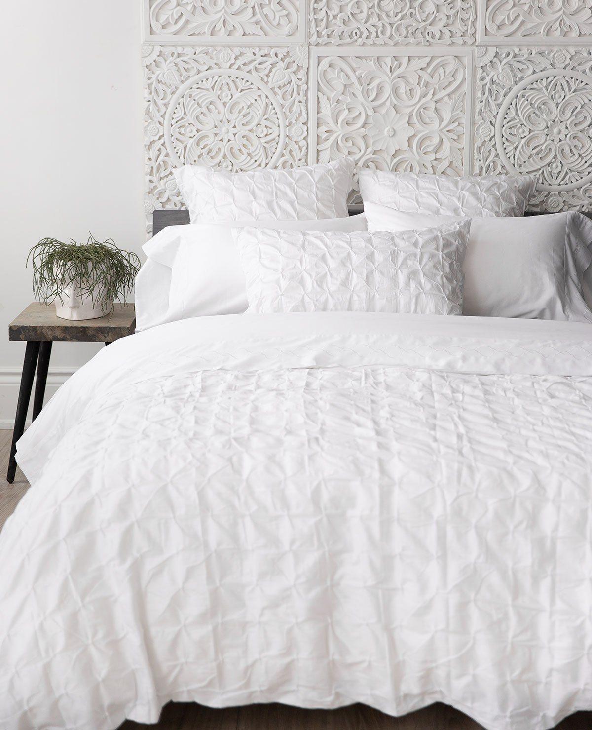 Pintuck Bed