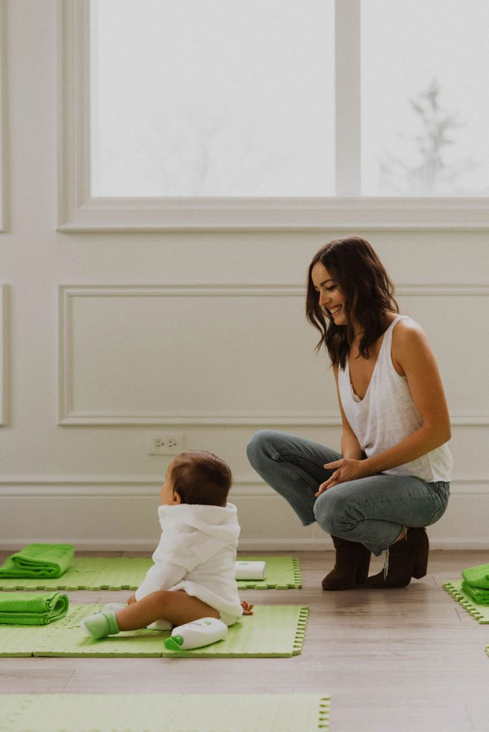 Family Portrait, Baby Photo, Plant-based Baby Products