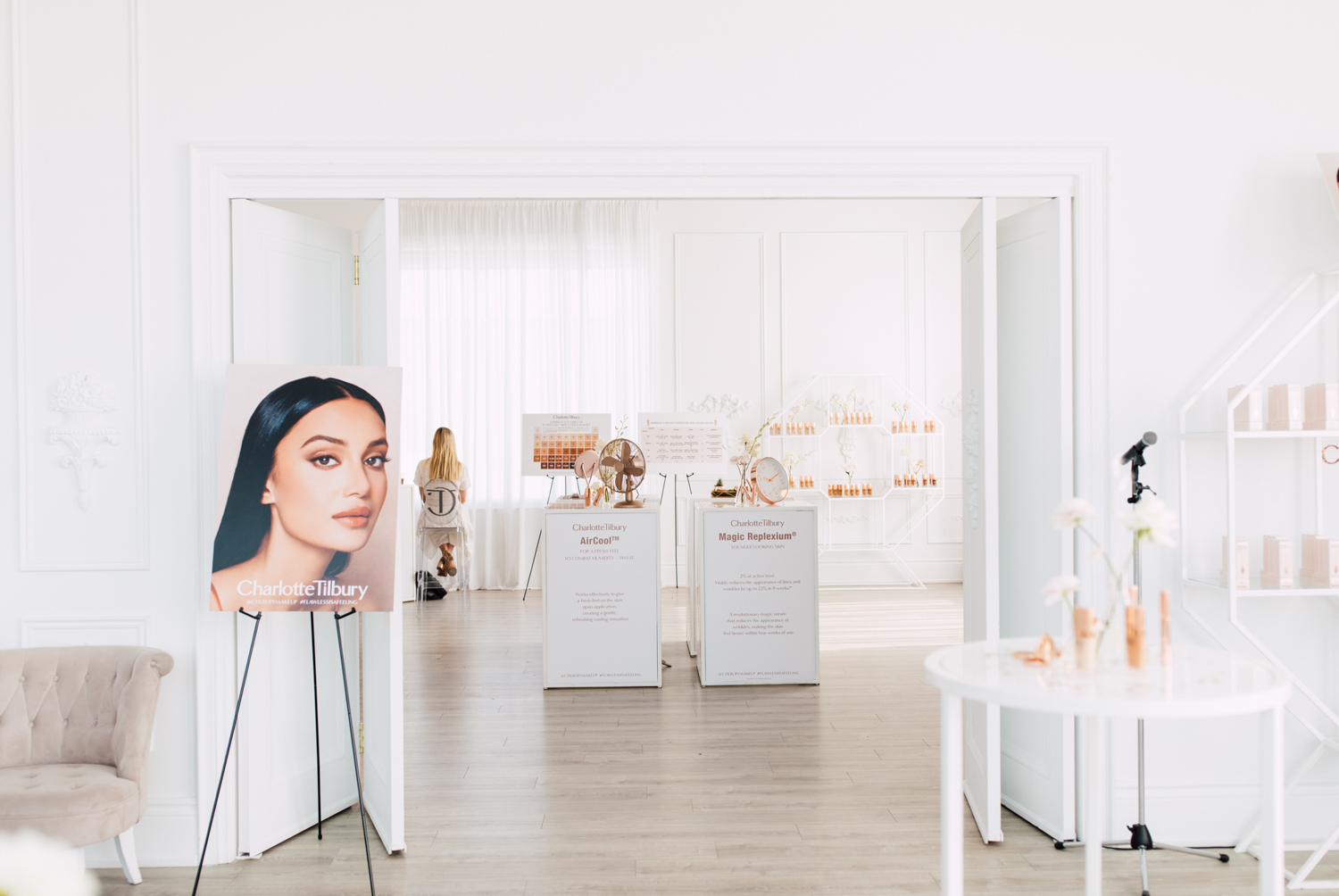Makeup Preview in Toronto Event Space
