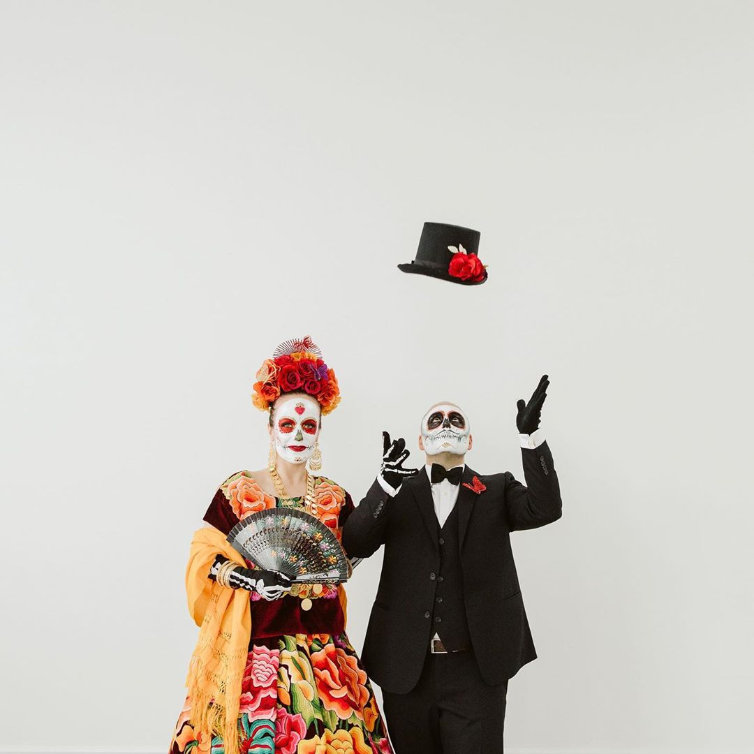 Day of the Dead Engagement Shoot