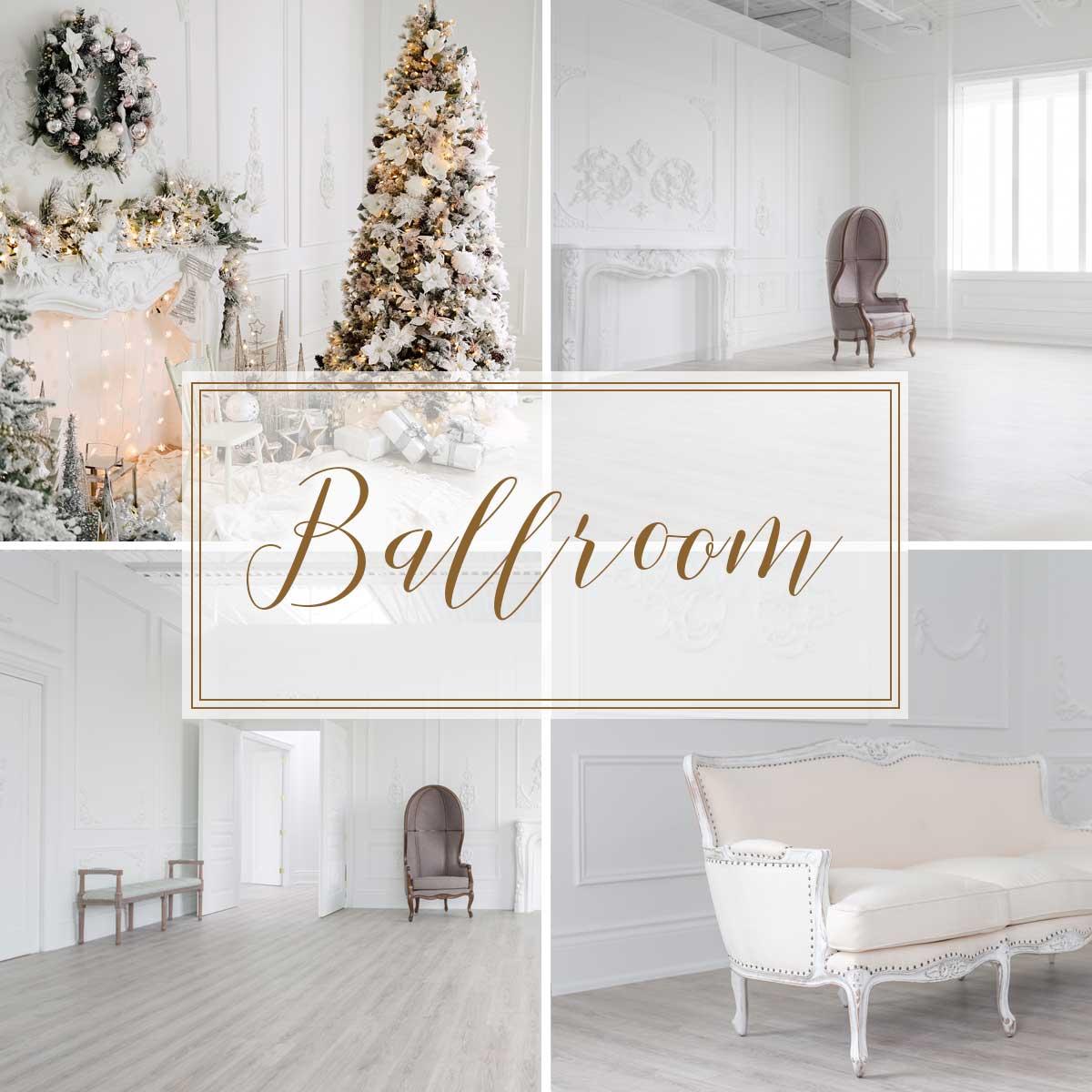 Photography studio ballroom