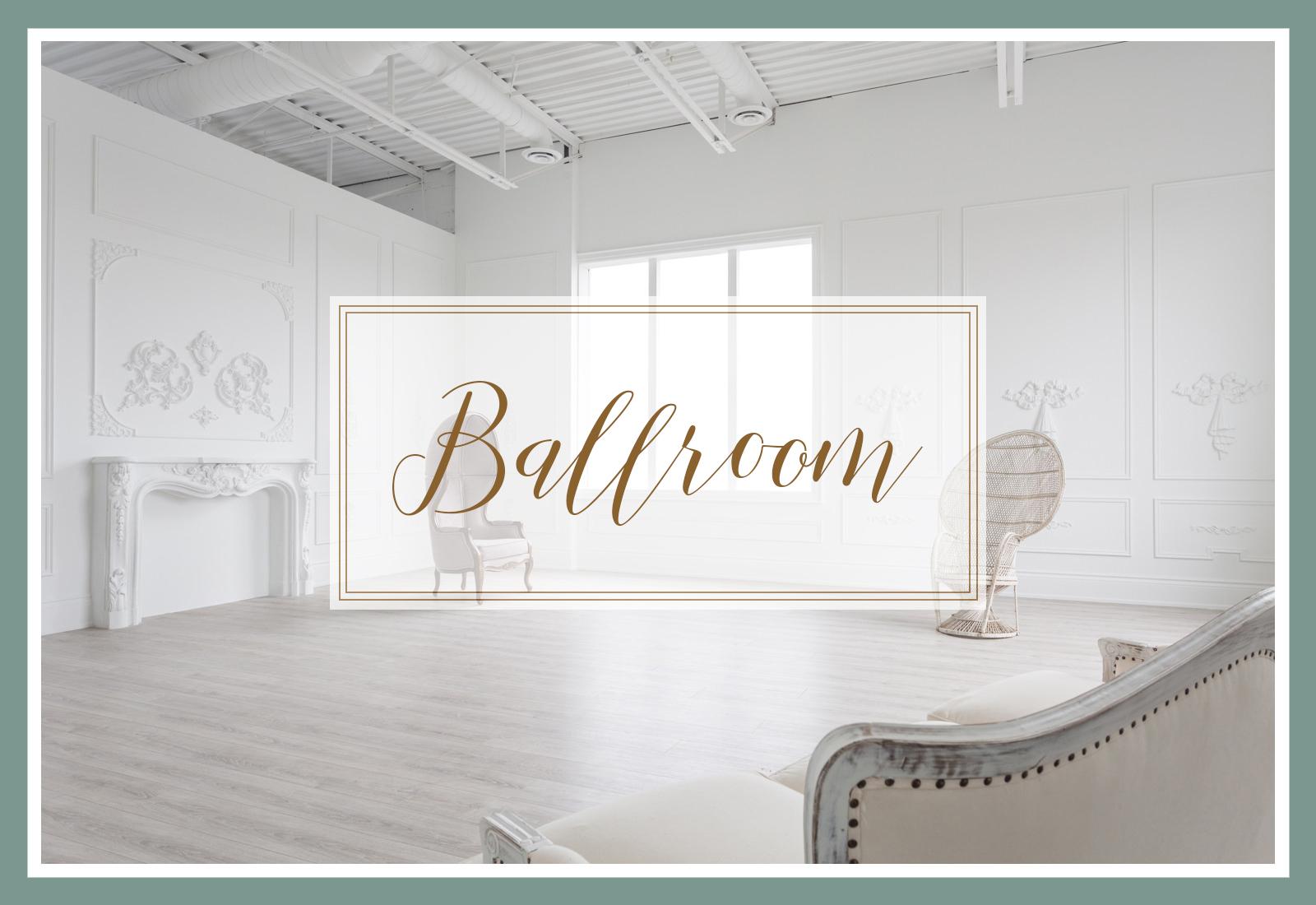 Ballroom Studio navigation