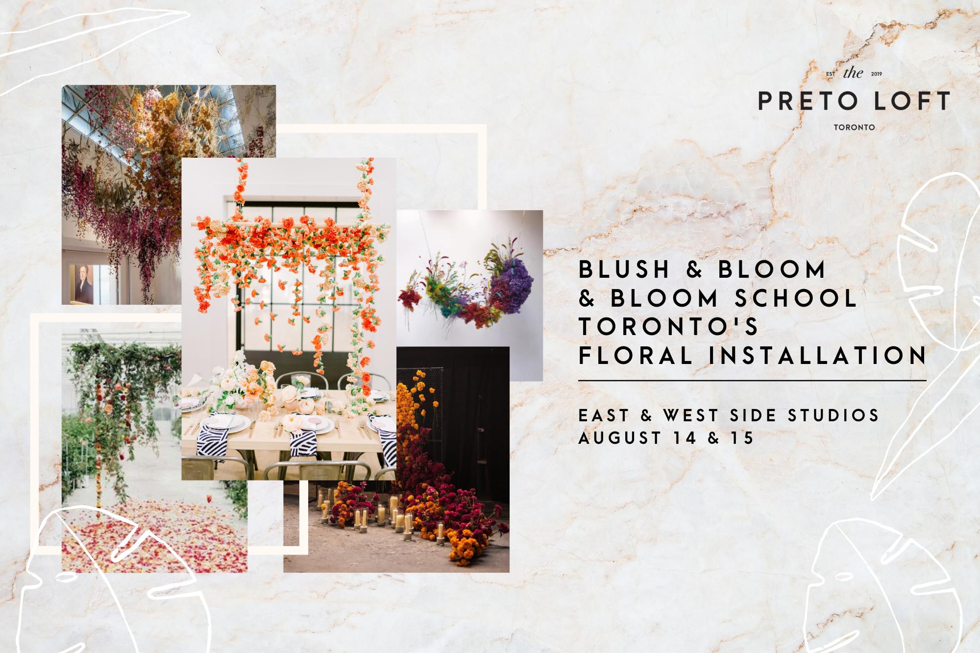 Floral Installation at Preto Loft