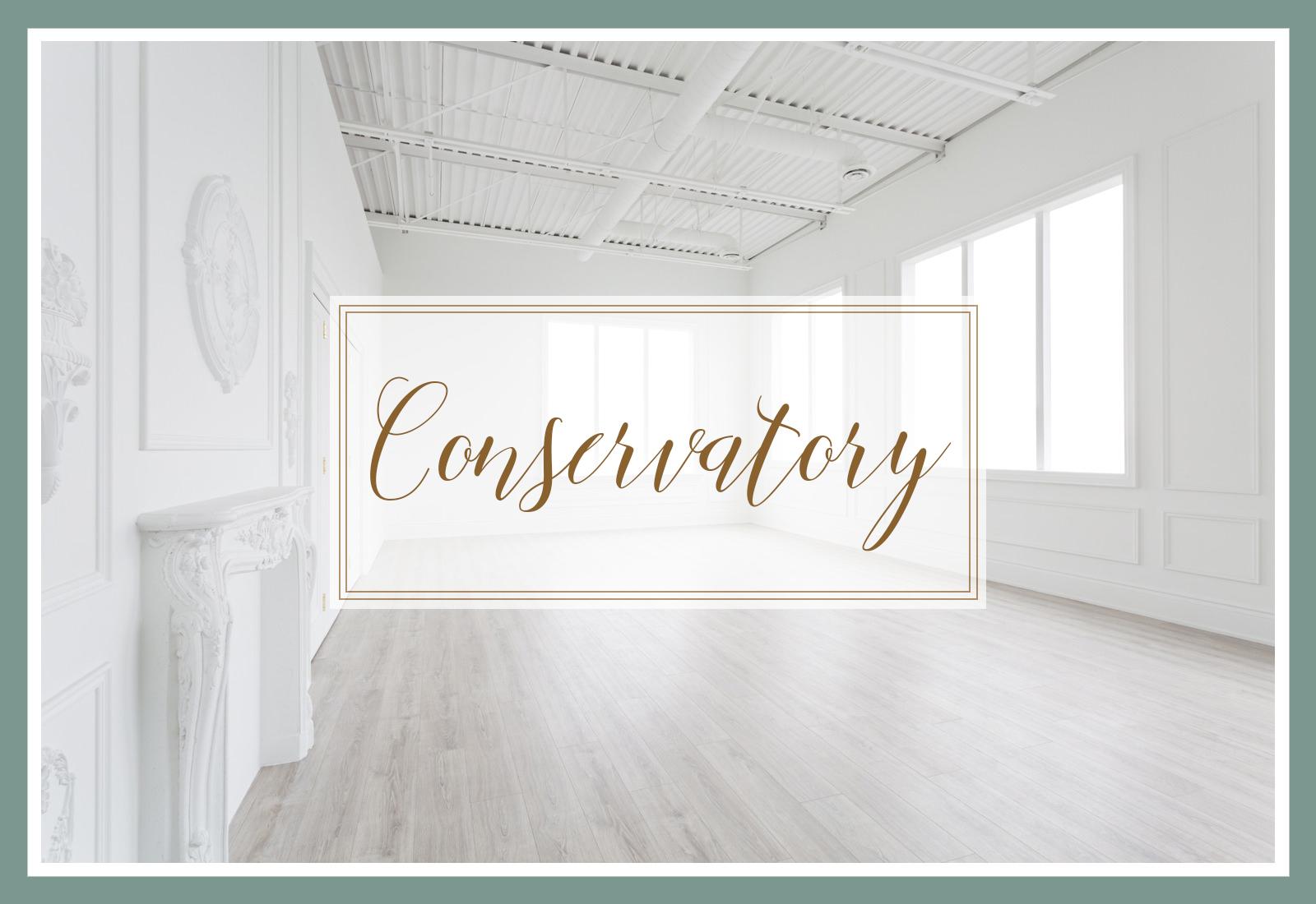 Conservatory Studio navigation