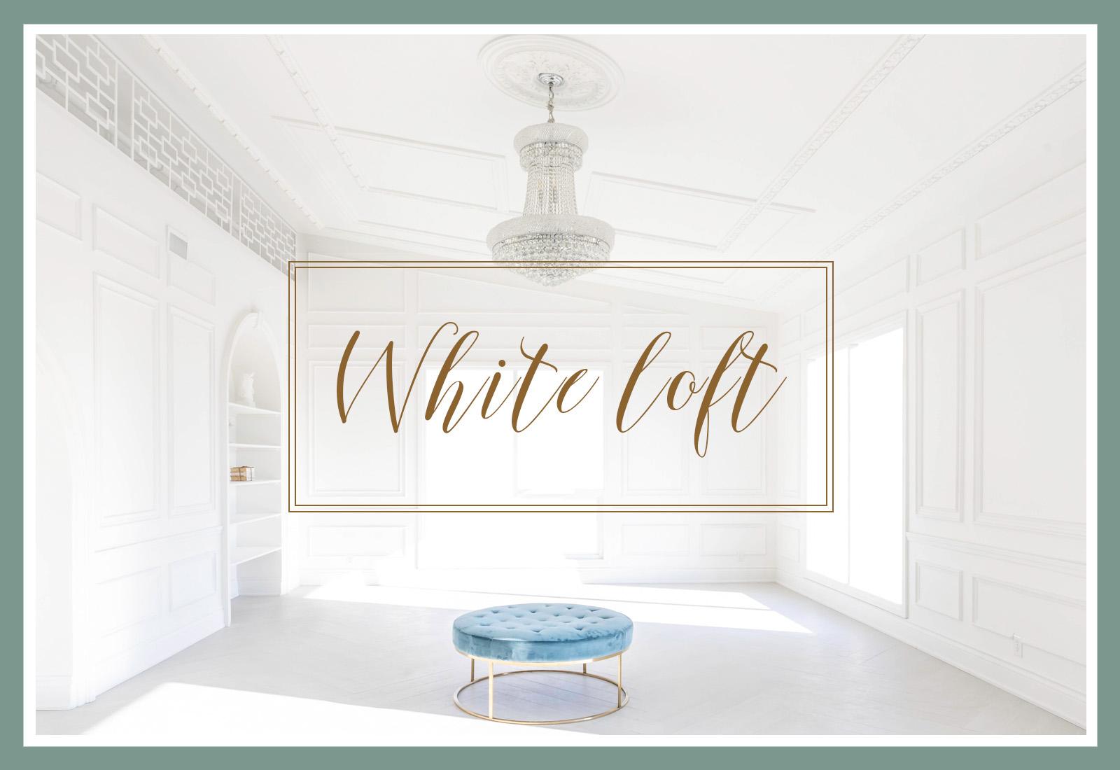 White Loft Studio navigation