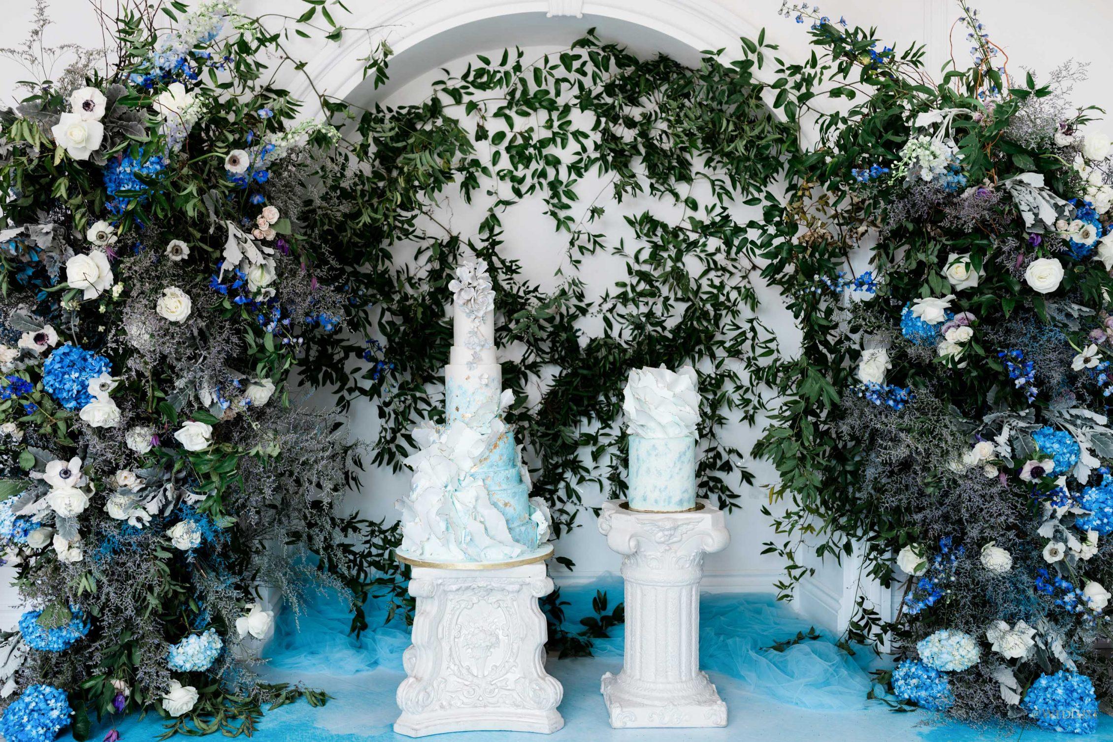 Gorgeous Pastel Wedding Cakes