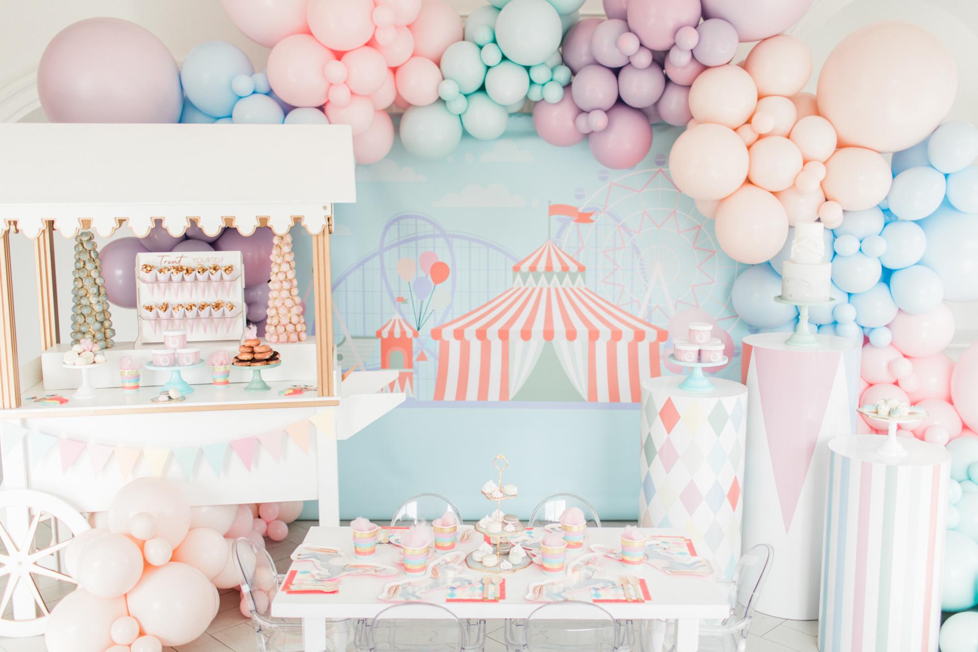 Pastel Circus by Plum Rose