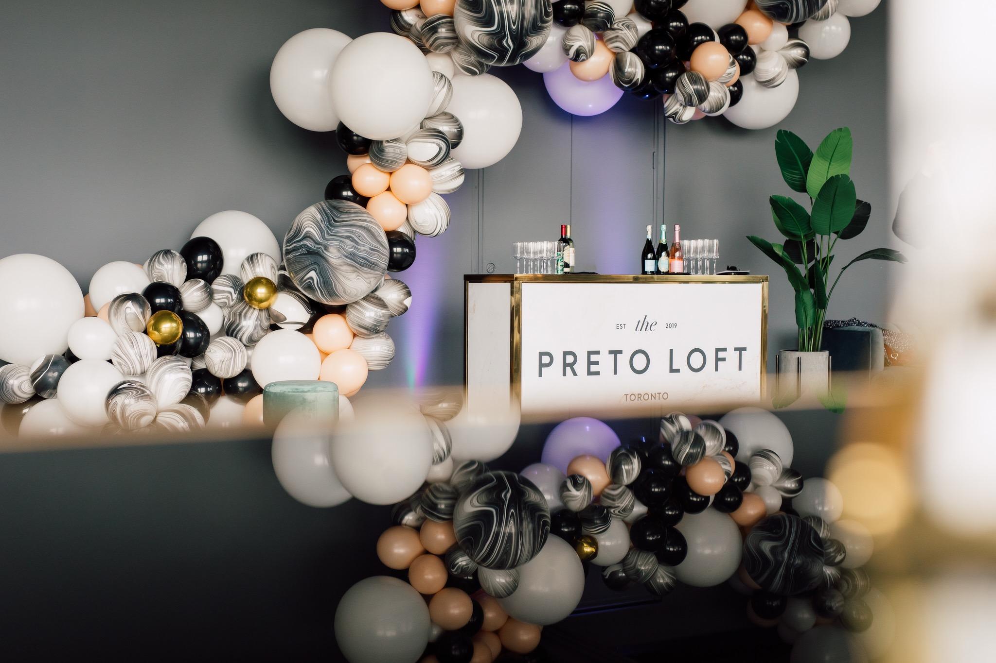 Event Venue Preto Loft