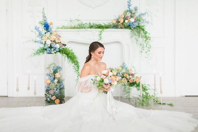Versailles Bridal Photoshoot