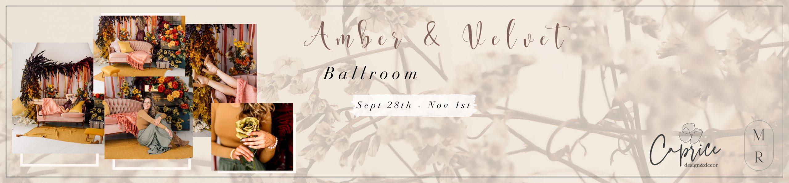 ballroom fall Setup