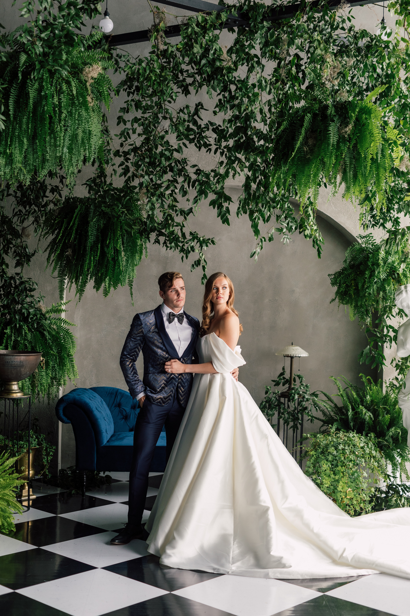 Elevated Greenhouse Styled Shoot
